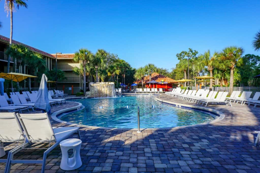 DoubleTree adult swimming pool