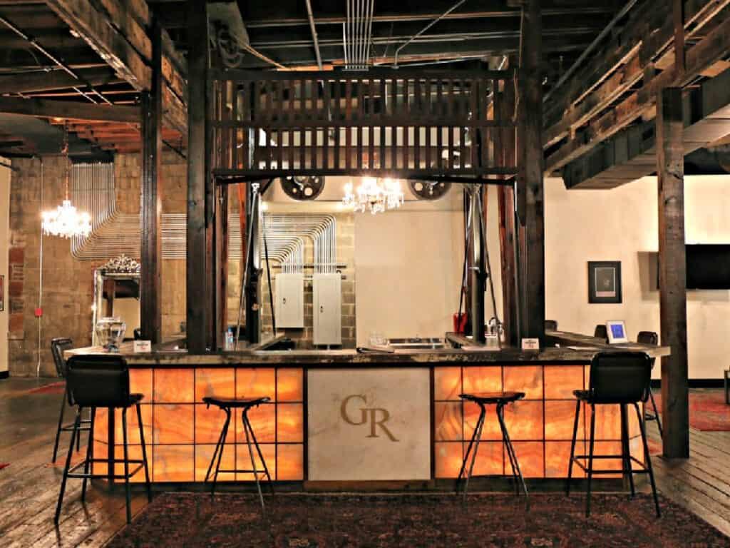 the GunRunner lobby