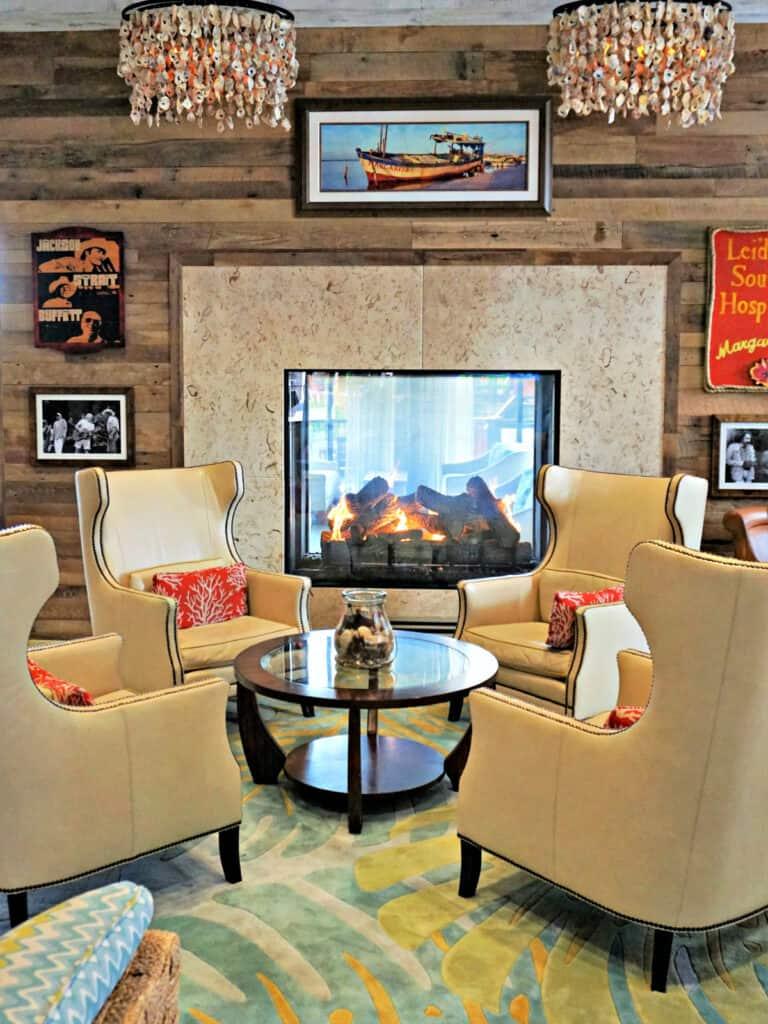 Margaritaville lobby