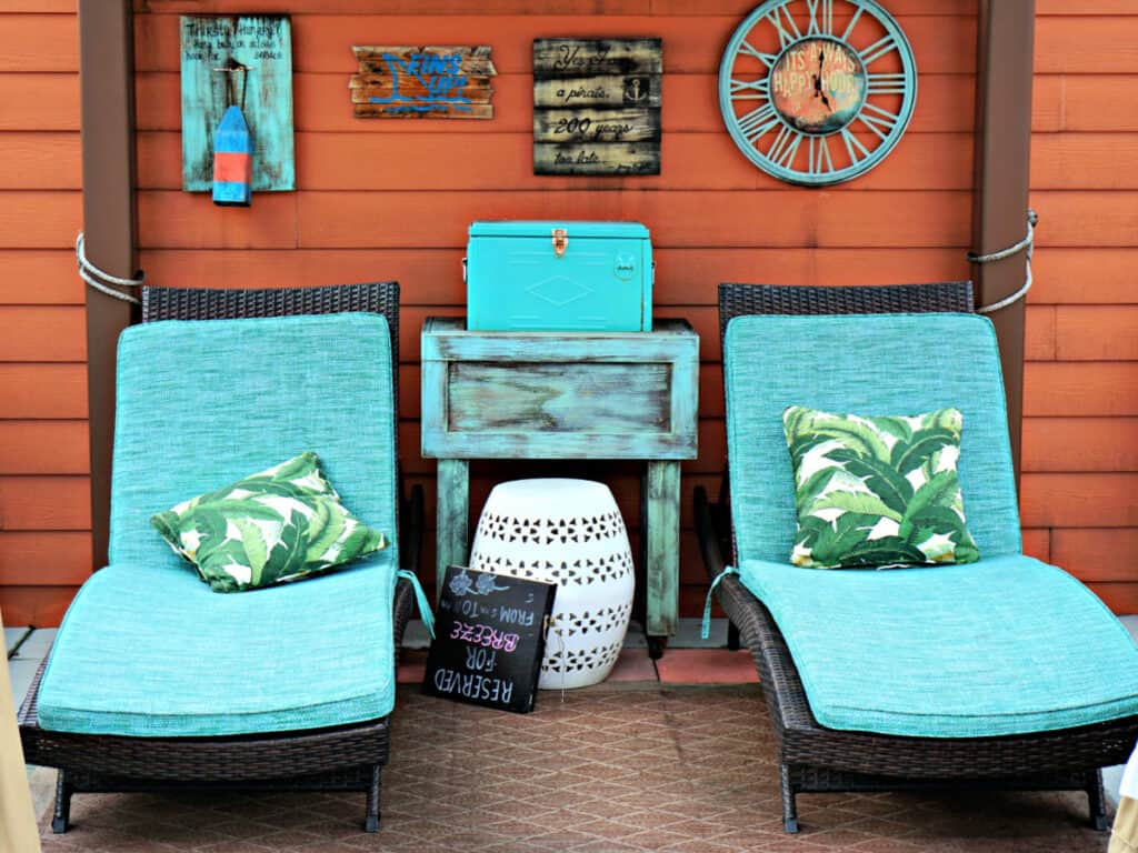 Margaritaville lounge chairs