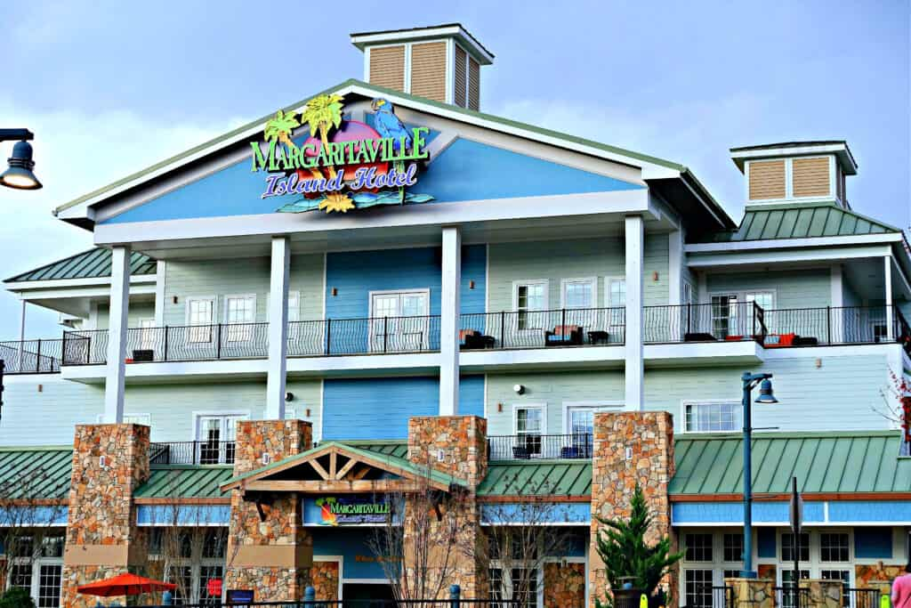 Margaritaville Island Hotel in Pigeon Forge
