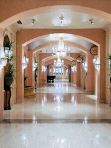 Hallway in Royal Sonesta