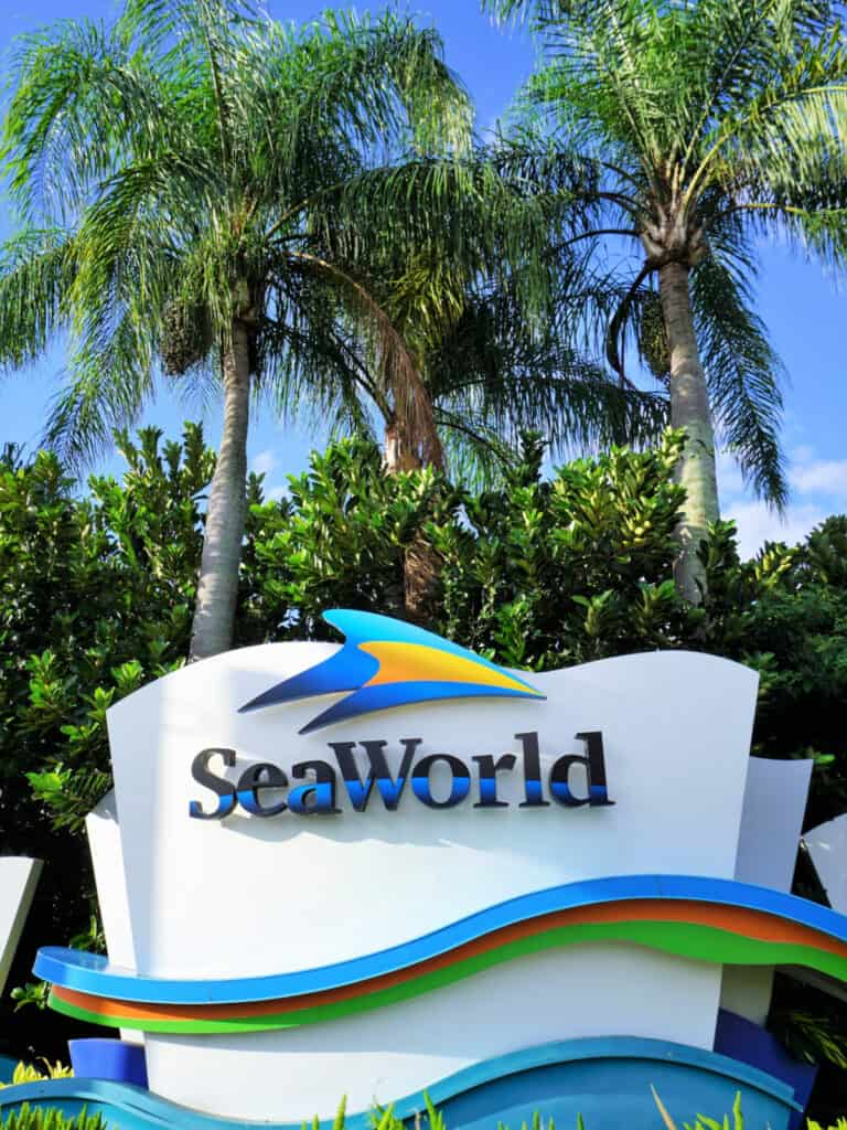 SeaWorld sign