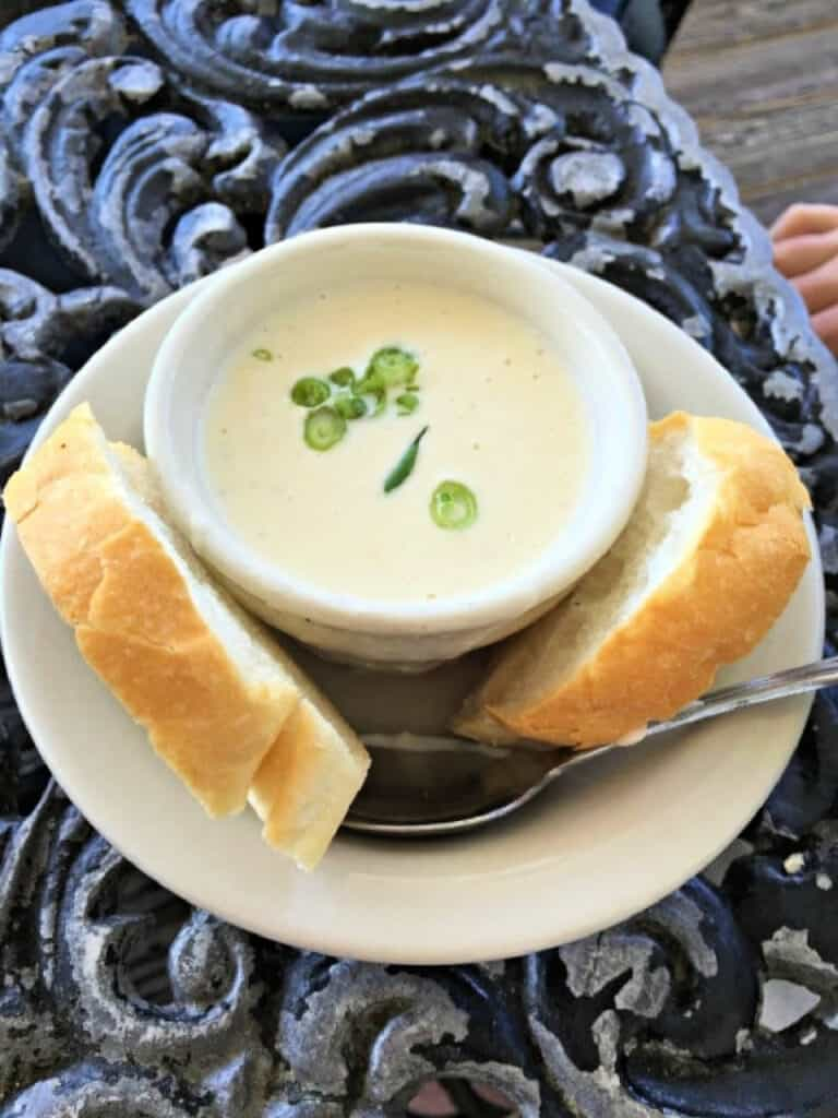 bowl of Crab & Brie Soup