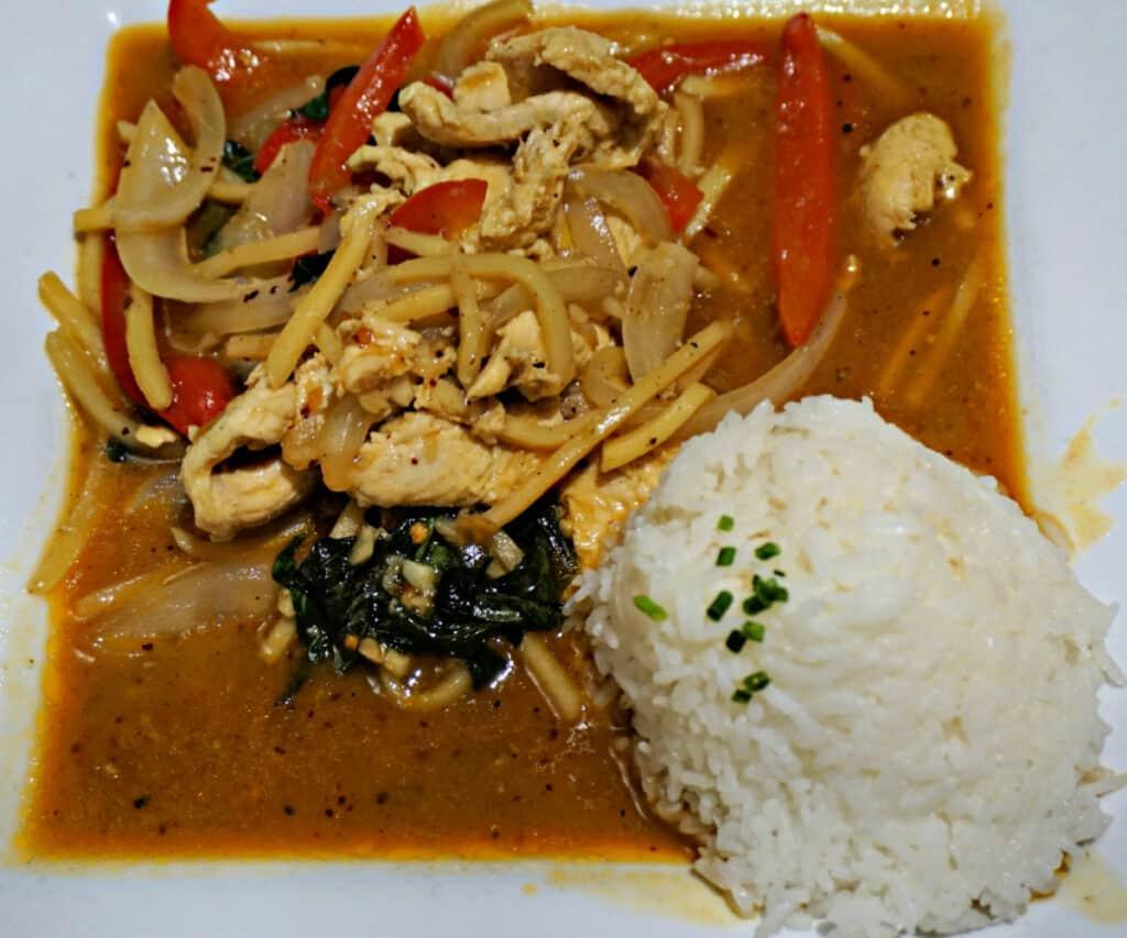 Spicy Basil dinner