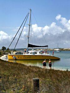 Wild Hearts sailboat