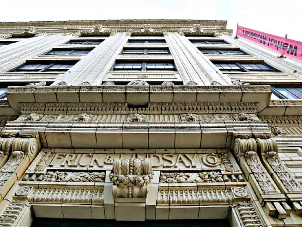 Frick and Lindsay building facade