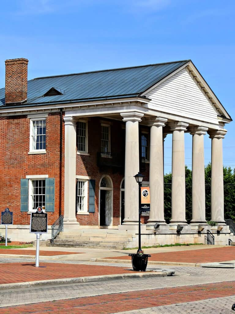 the Old State Bank in Decatur