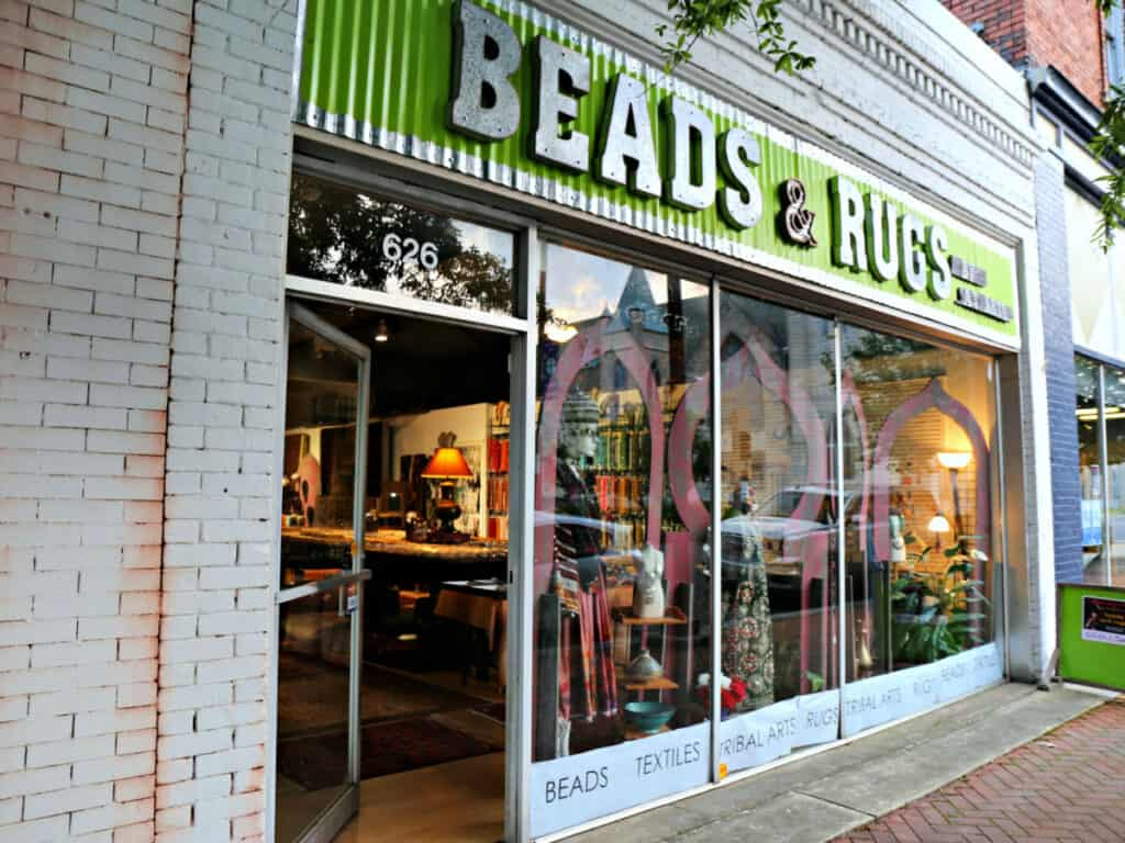Beads and Rugs store