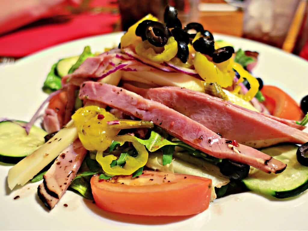 antipasti chef salad