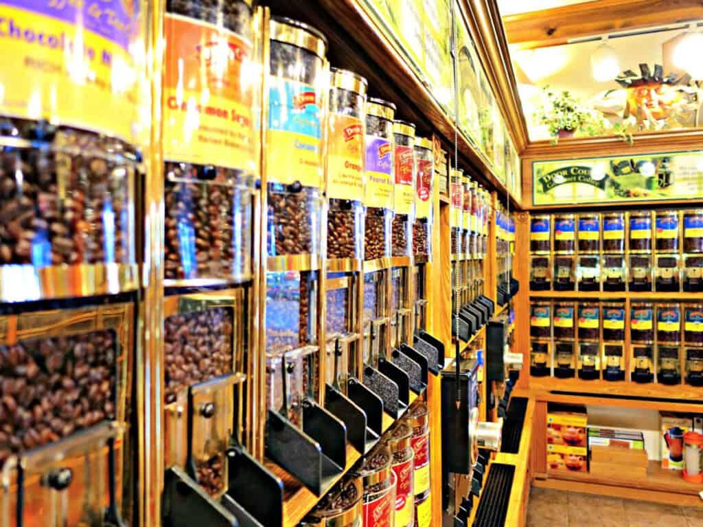 coffee display