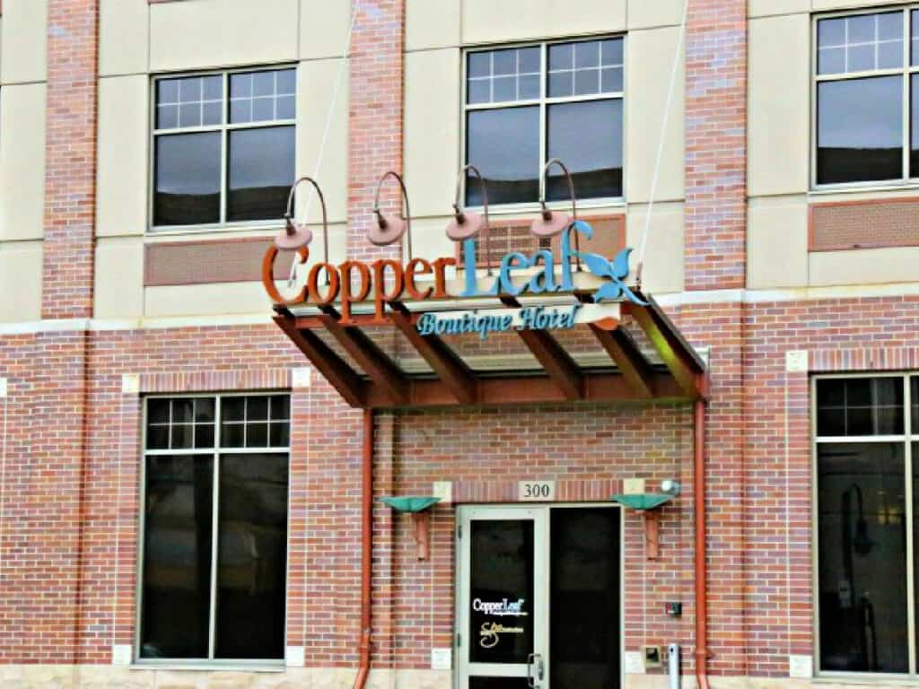 Copper Leaf Boutique Hotel front