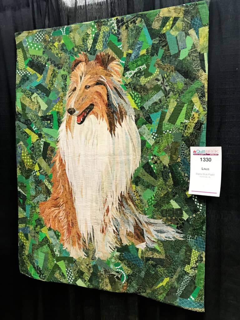 Quilt of Collie