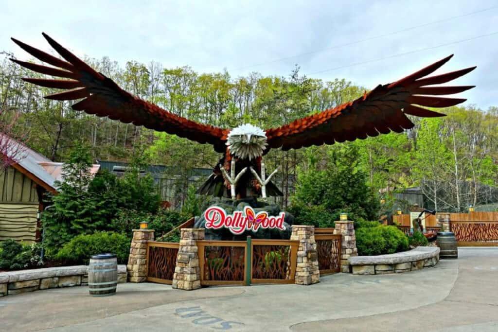 Screamin' Eagle entrance
