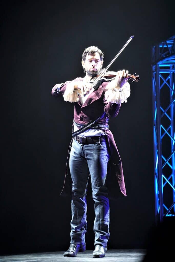 Flamenco King playing string instrument