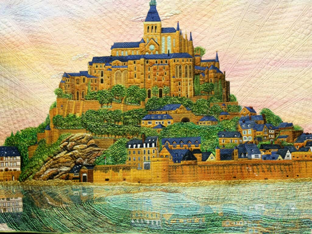 French Castle quilt