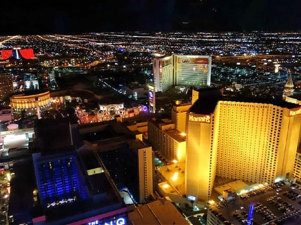 Harrah's casino in Las Vegas