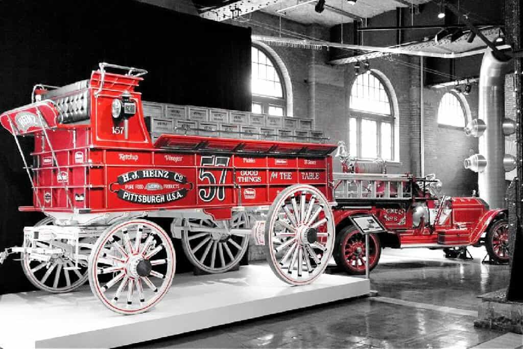 Heinz museum fire truck