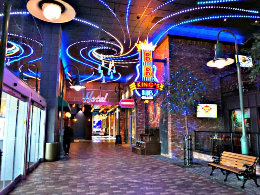 inside Windcreek Casino