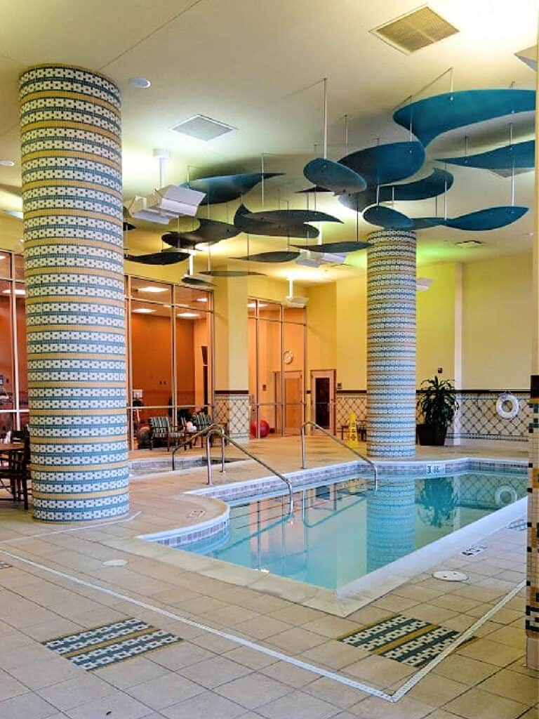 Branson Hilton Indoor Pool
