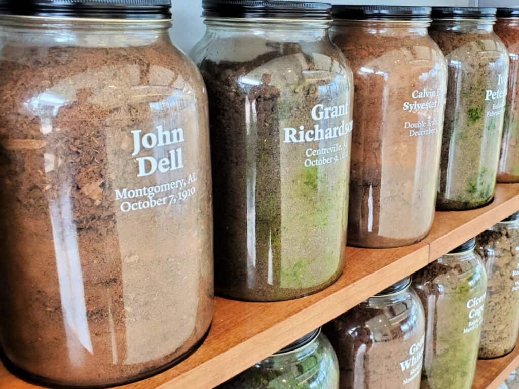 jars of dirt memorial
