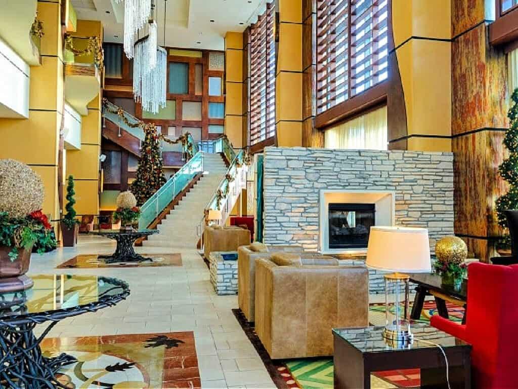 Lobby of Branson Hilton