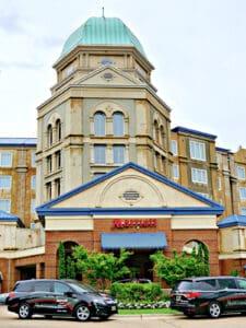 Marriott Shoals entrance