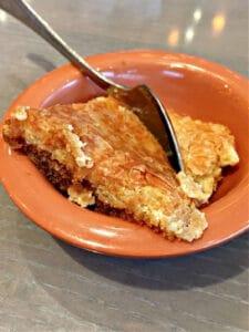 slice of Ooey Gooey Butter Cake