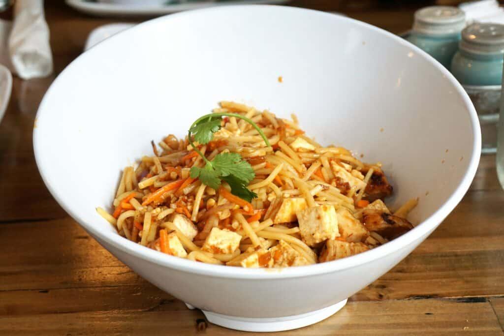 bowl of Pad Thai