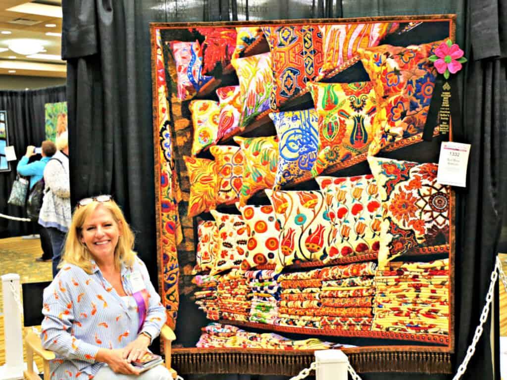 Silk Road quilt