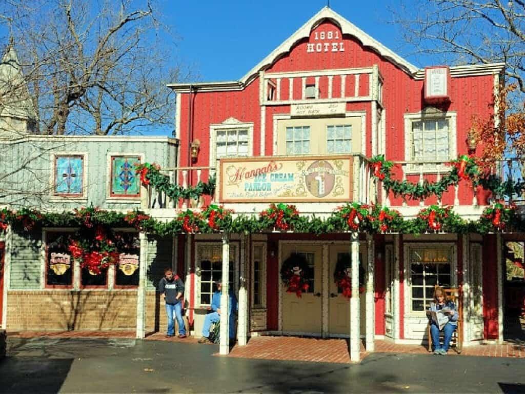 Silver Dollar City ice cream parlor