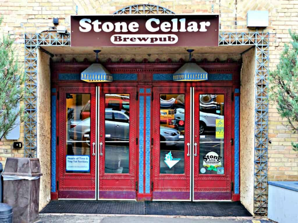 Stone Cellar Brew pub entrance