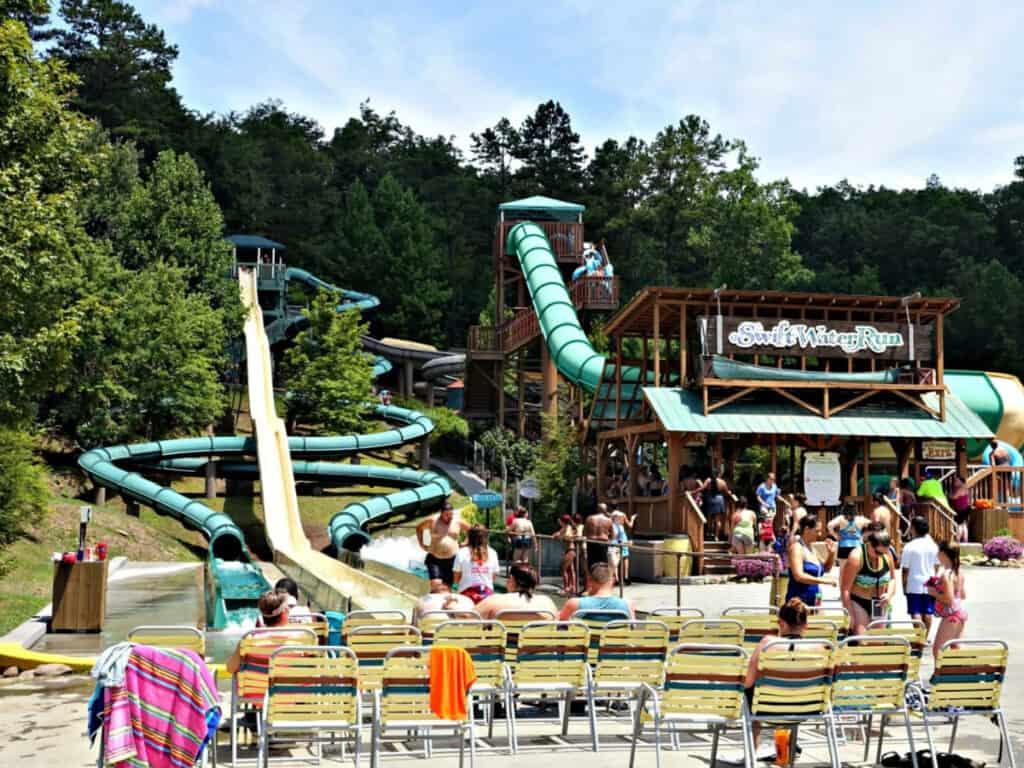 water slide rides