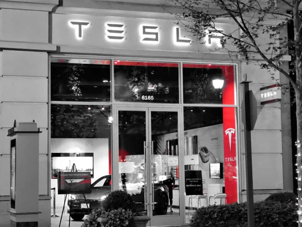 Tesla building