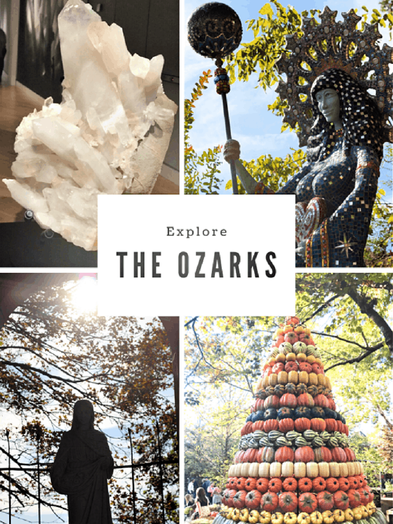 Explore the Ozarks sign