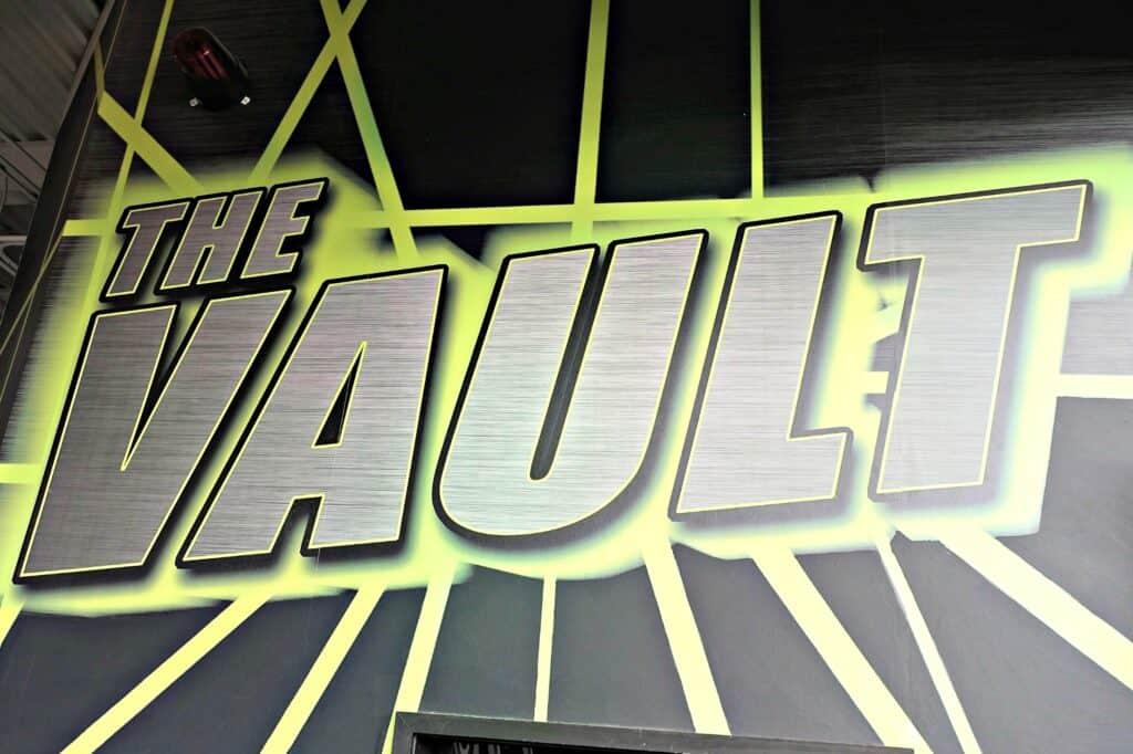 The Vault sign