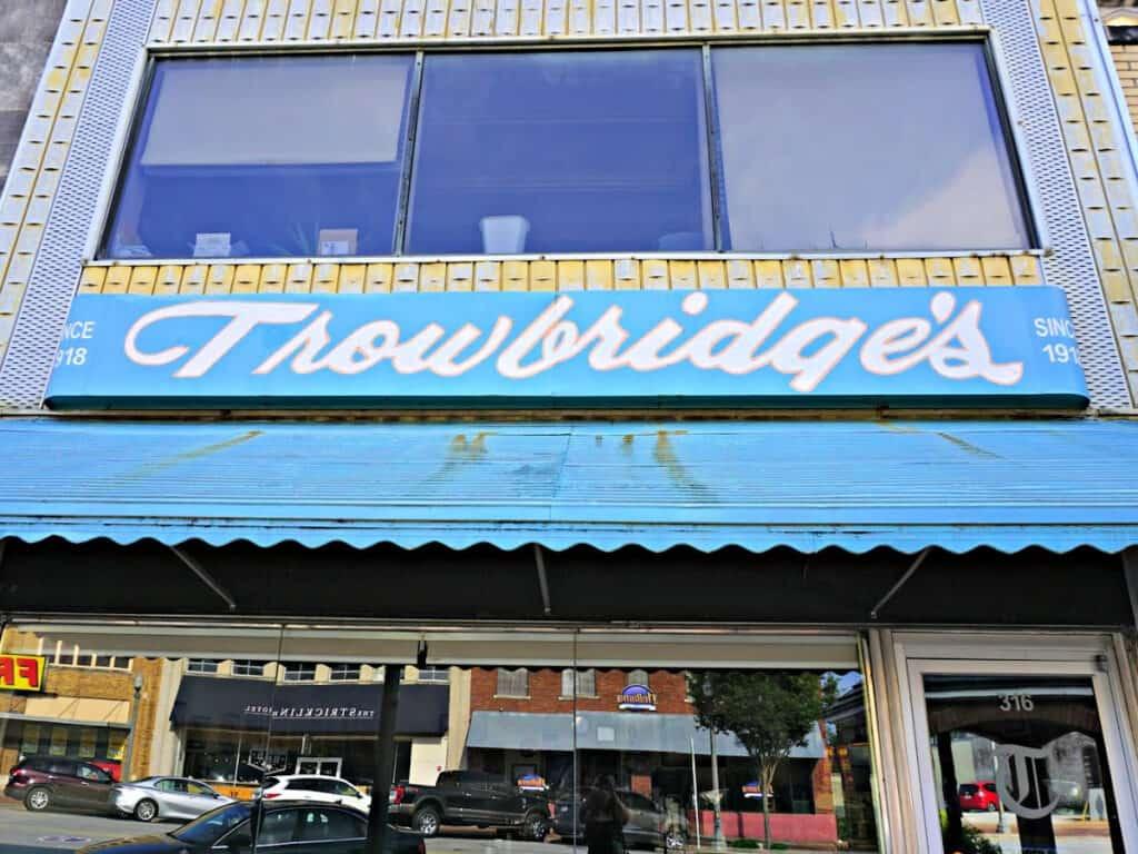 Trowbridges store front