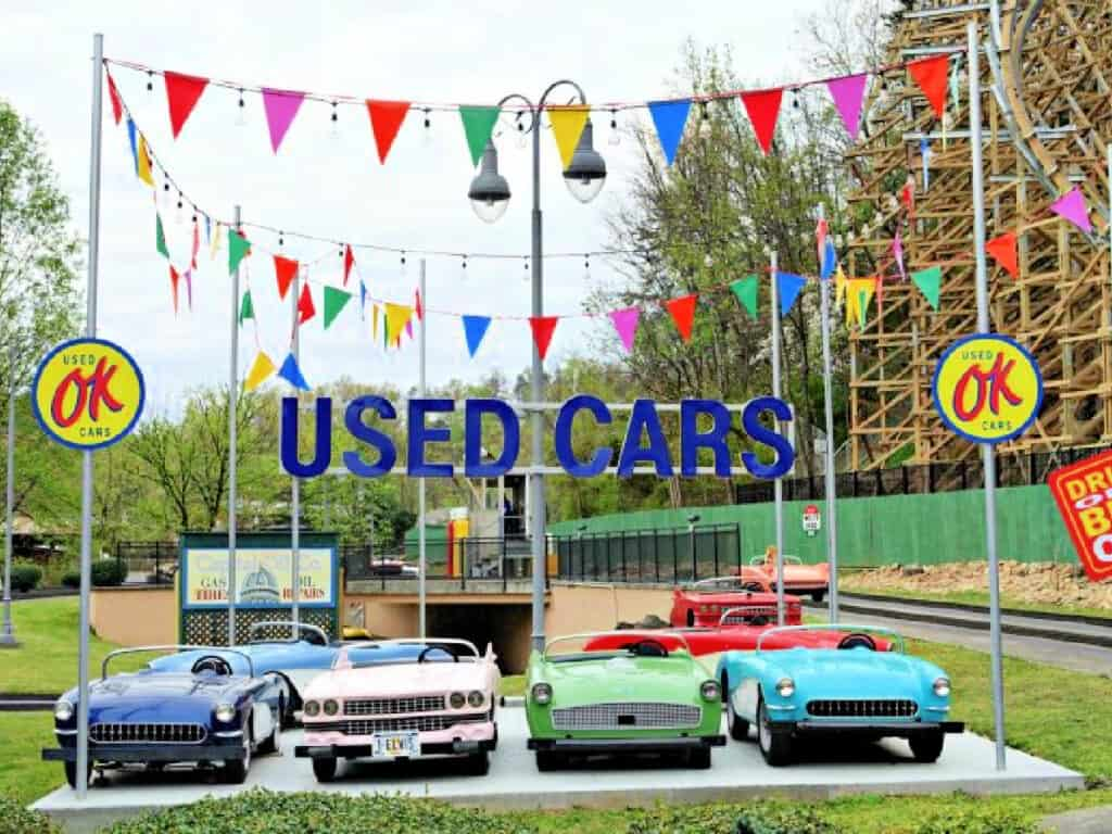 Used cars ride