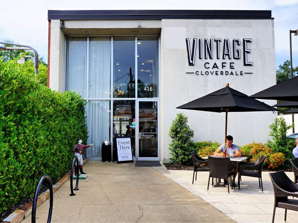 Vintage Cafe building