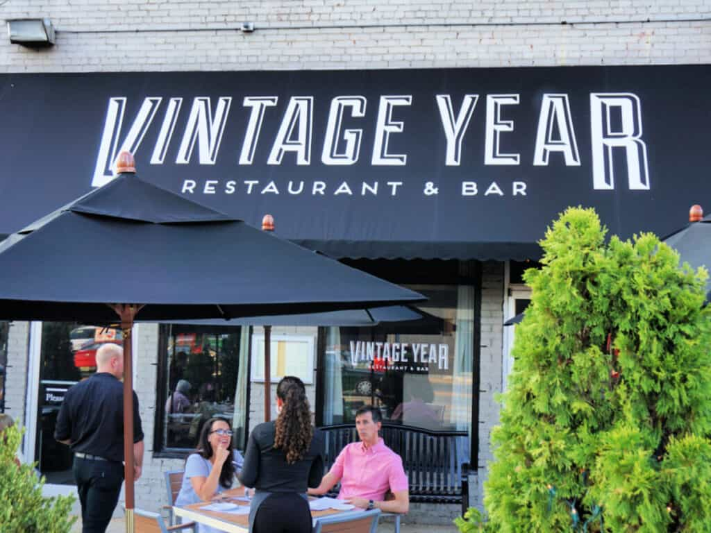 Vintage Year sign