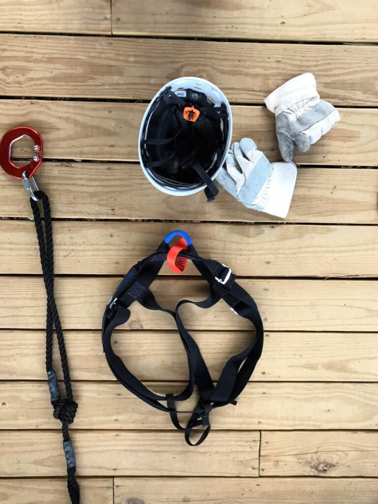 zip line gear