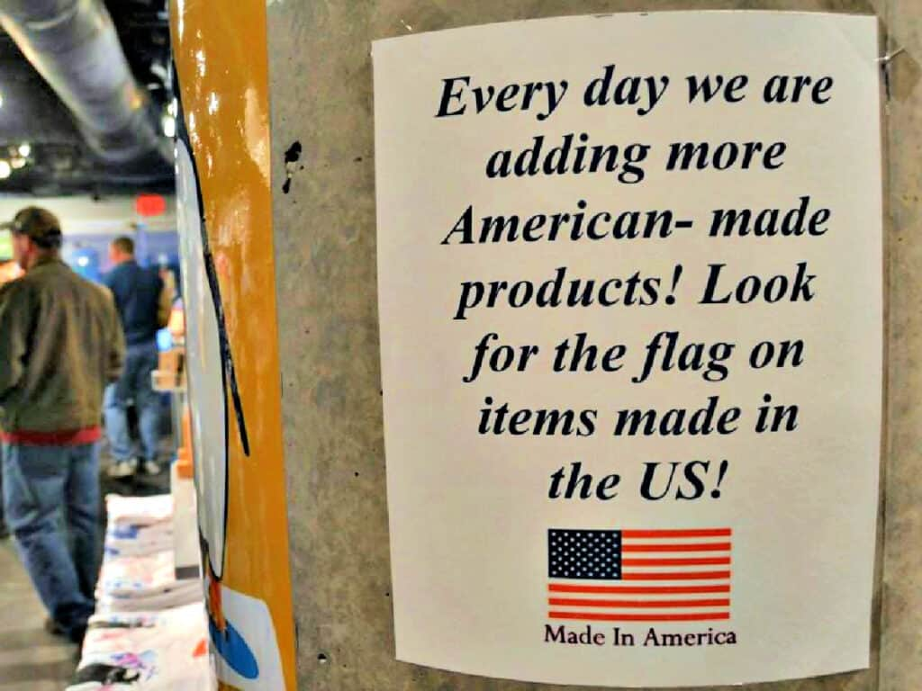 American Made sign