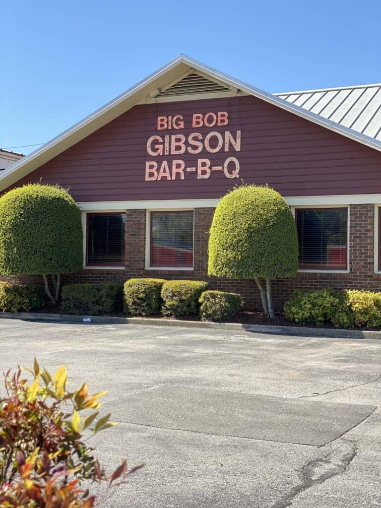 Big Bob Gibson's Restaurant on 6th