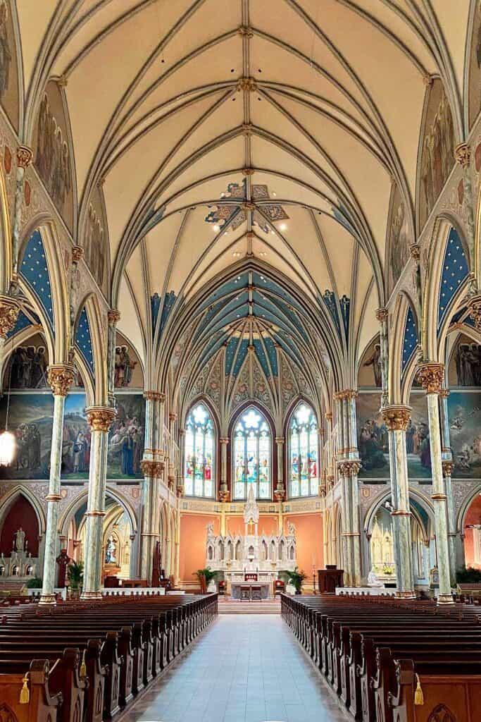 inside St John Cathedral