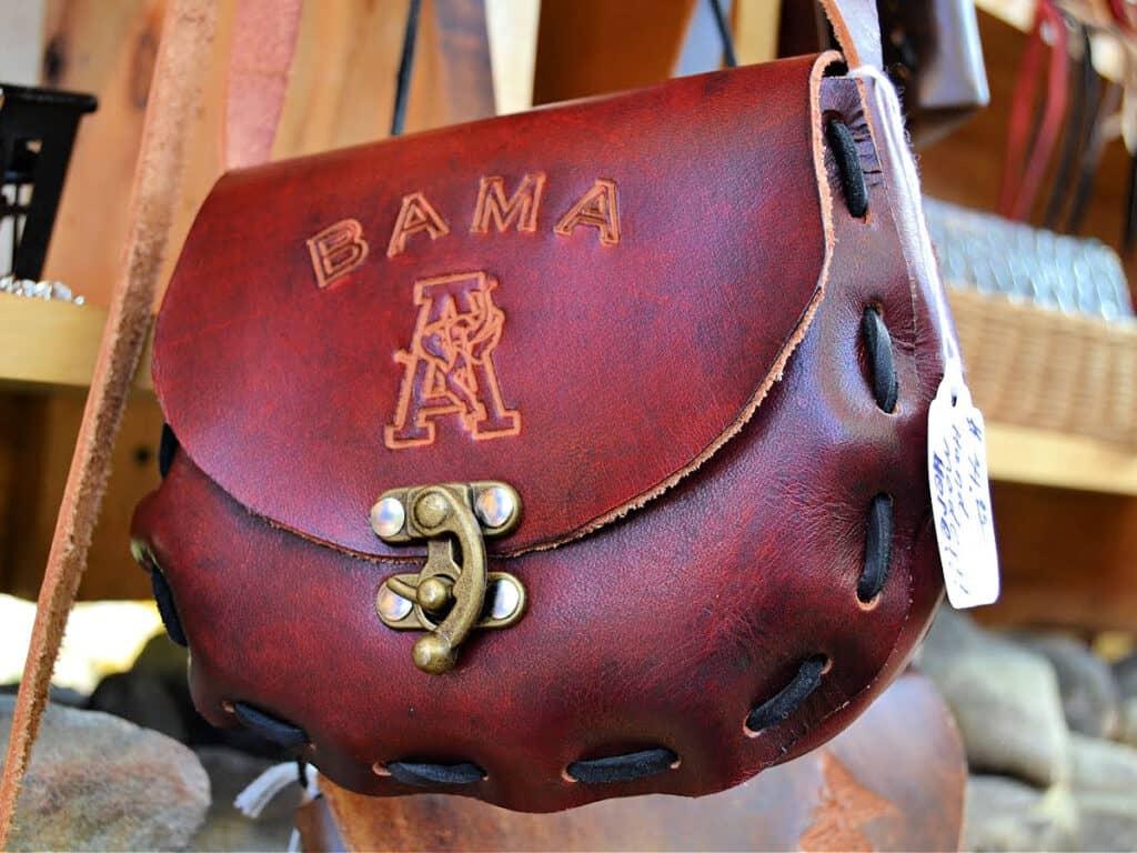 leather Bama purse