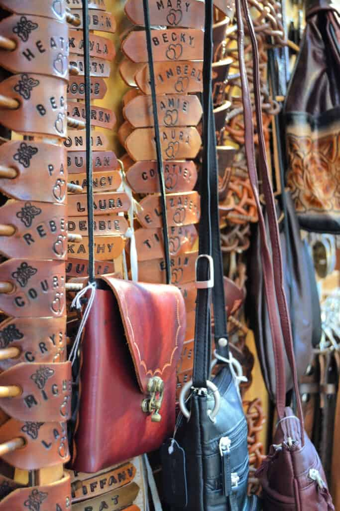 leather wares for sale