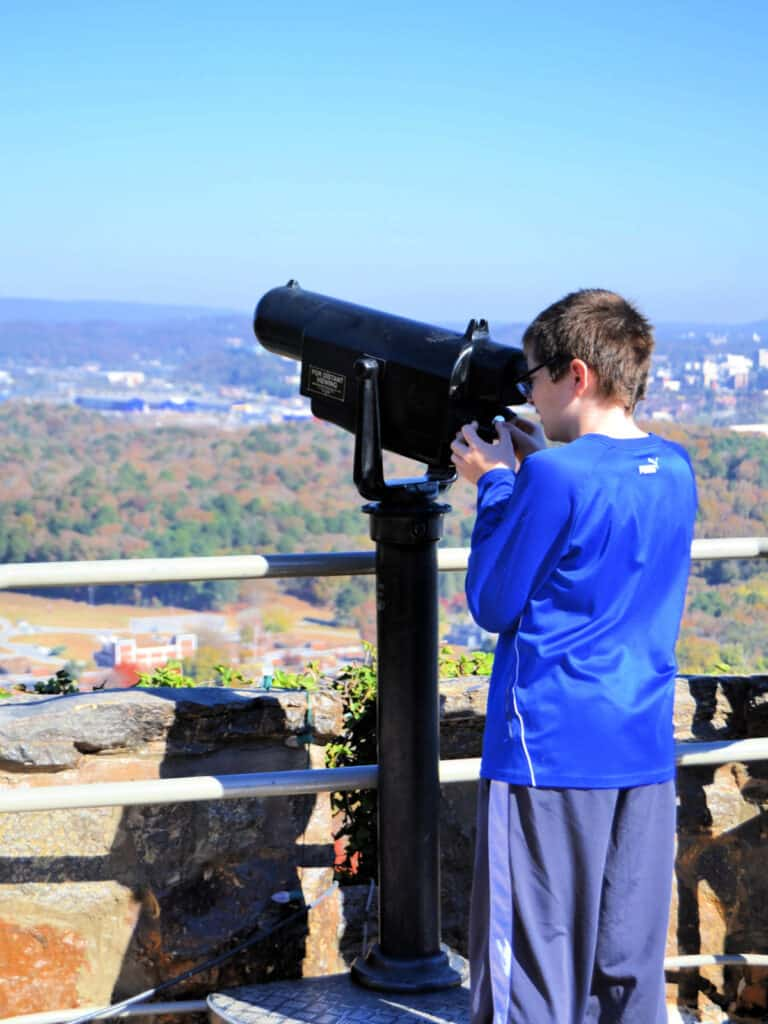view Chattanooga from a view finder