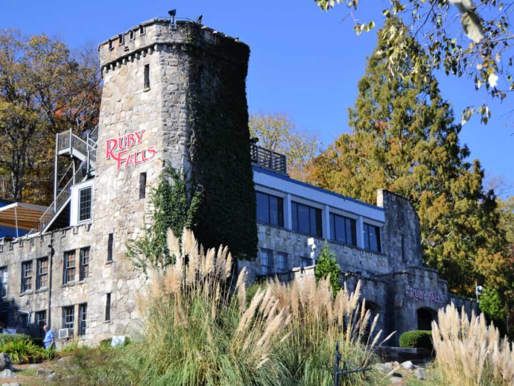 Ruby Falls building