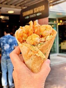 shrimp cone