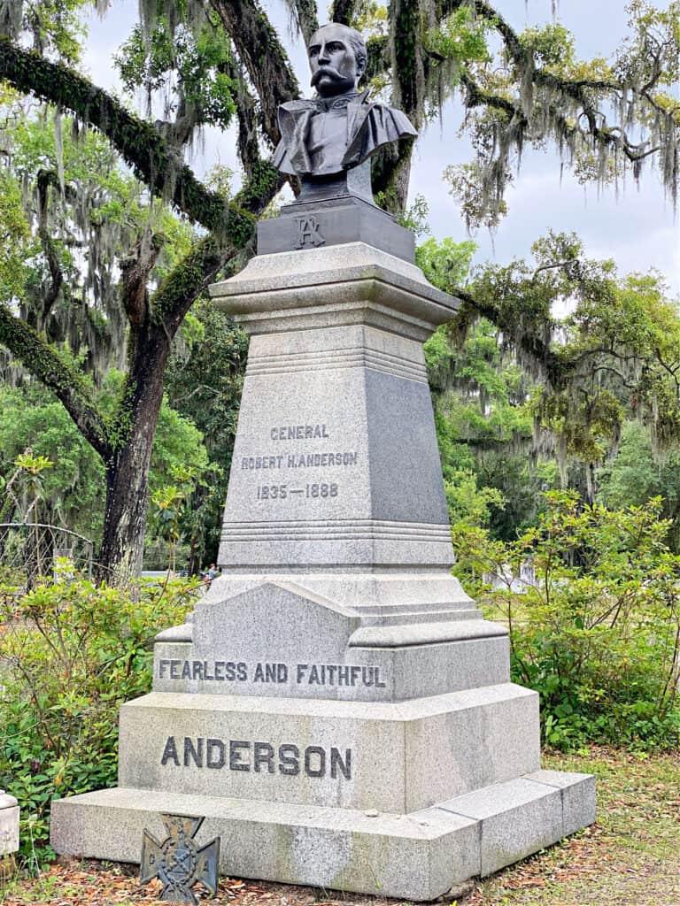 Robert H. Anderson grave